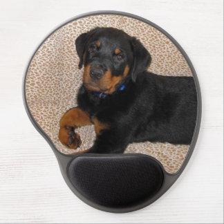 Heidi Rottweiler Puppy Gel Mousepad Gel Mouse Mat