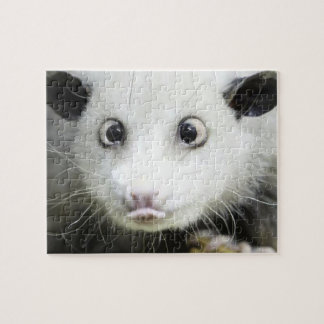 Heidi The Cross Eyed Opossum Jigsaw Puzzle