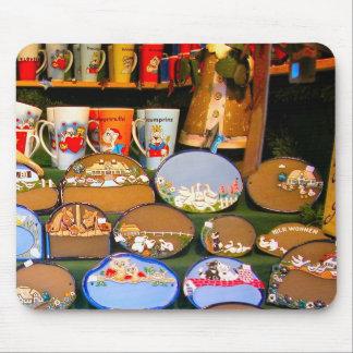 Heidlelberg Christmas market Mouse Pads