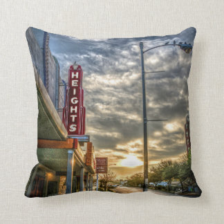 Heights At Morning Light Throw Pillows