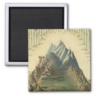 Heights Of The Principal Mountains In The World Magnet