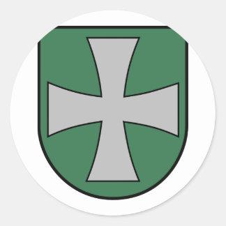 Heiligenkreuz, Austria Round Stickers