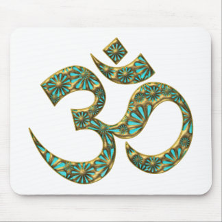 Heiliges OM AUM -ICH BIN - Spirituelles Symbol Mousepad