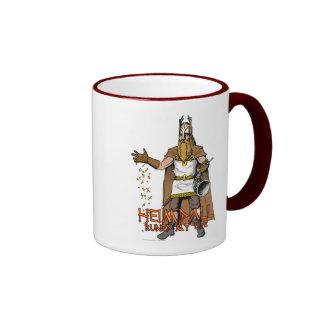 """""""Heimdall Runed Our Lives"""" Ringer Mug"""