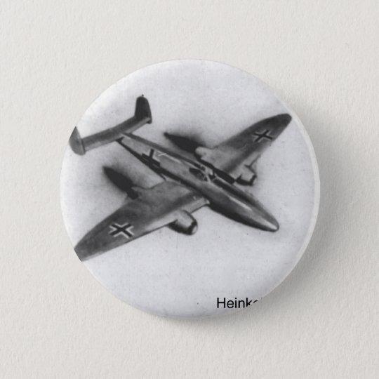 Heinkel HE280 6 Cm Round Badge