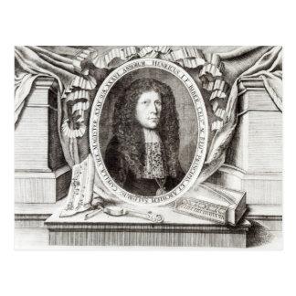 Heinrich Ignaz Franz von Biber Postcard
