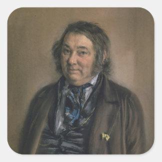 Heinrich Smidt Square Sticker
