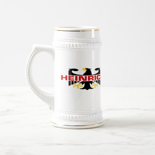Heinrich Surname Coffee Mug