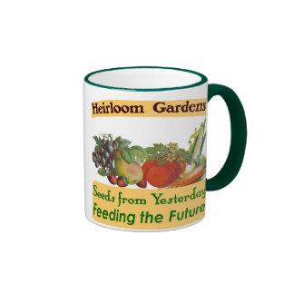 Heirloom Gardens Green Saying Coffee Mug