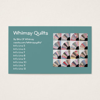 Heirloom Quilt Business Card