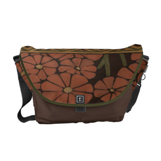 Heirloom Textile with Decorative Patterns Commuter Bags