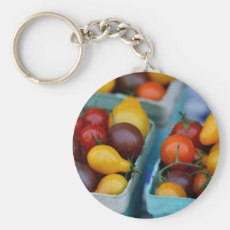Heirloom Tomatoes Key Ring