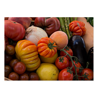 Heirloom Tomatoes Pack Of Chubby Business Cards
