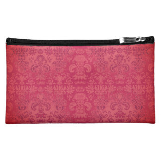 Heirloom_Vintage-Rose- Damask-Sueded_Bag Cosmetic Bag