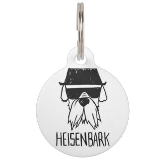 HEISENBARK Pet ID Tag