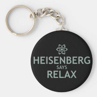 Heisenberg Says Relax Key Ring