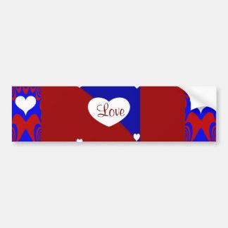 Heiti With Love _ Bumper Sticker