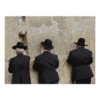 Helaine s Western Wailing Wall Poster