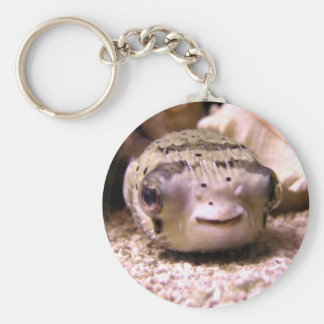 Helaine's Blowfish Pufferfish Key Ring