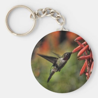 Helaine's Hummingbird 2 Key Ring