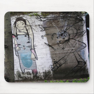 Helaine's Japanese Graffiti Mouse Mat