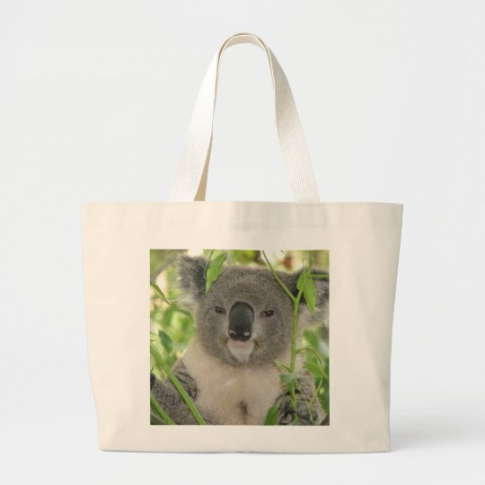 Helaine's Koala Bear Large Tote Bag