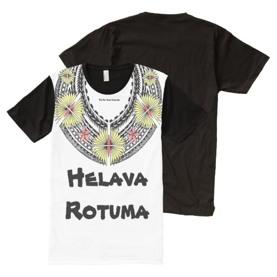 Helava Tifui Rotuma style All-Over Print T-Shirt