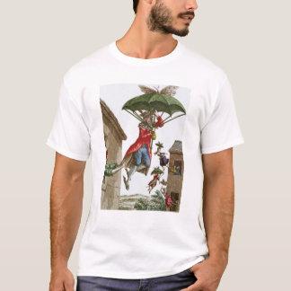 Held Aloft by Umbrellas and Butterflies T-Shirt