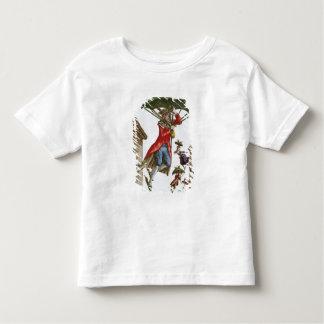 Held Aloft by Umbrellas and Butterflies Toddler T-Shirt