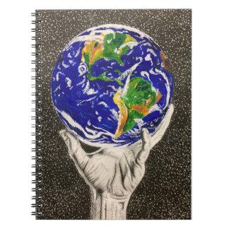 Held Earth notebook