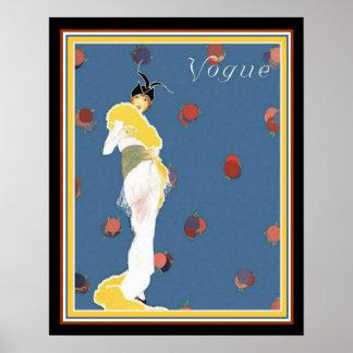 Helen Dryden Art Deco Vogue Print 16 x 20 (1913)
