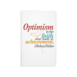 Helen Keller Optimism Quote Journals