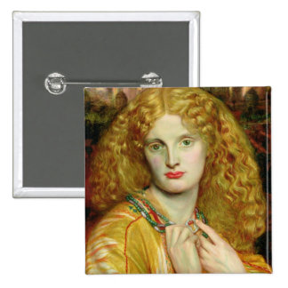 Helen of Troy, 1863 15 Cm Square Badge