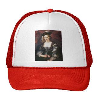 Helena Fourment by Peter Paul Rubens Mesh Hat