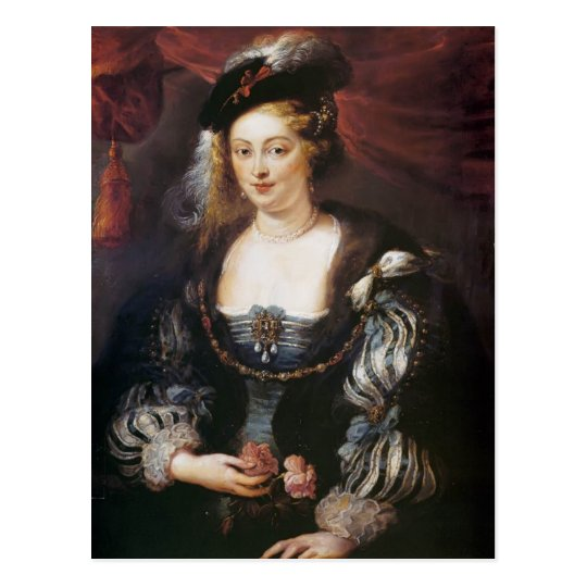Helena Fourment by Peter Paul Rubens Postcard