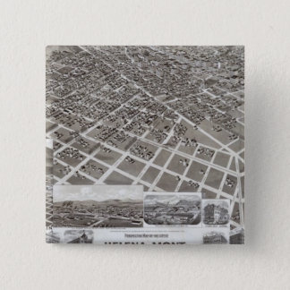 Helena, Mont 15 Cm Square Badge