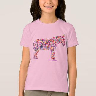 Helena Paper Mosaic Horse T-shirt