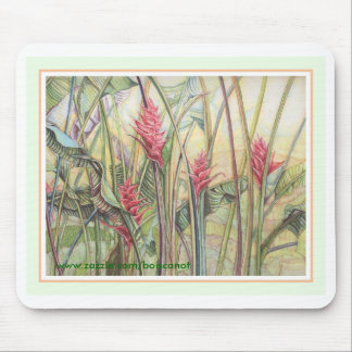Heliconia Bush Mouse Pads