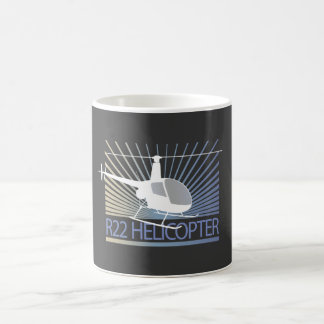 Helicopter Aircraft Coffee Mug