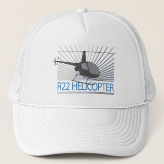 Helicopter Aircraft Trucker Hat