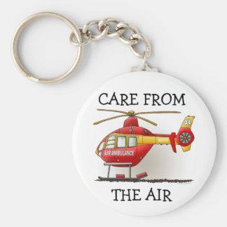 Helicopter Ambulance Keychain CFTA