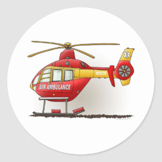 Helicopter Ambulance Sticker