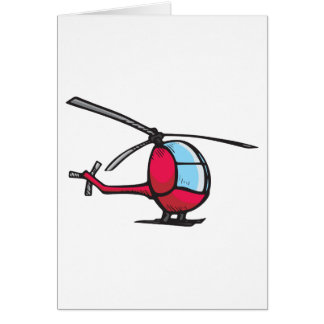 Helicopter Card