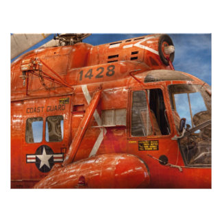 Helicopter - Coast guard helicopter Custom Flyer