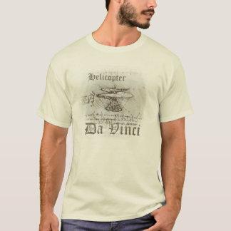 Helicopter Da Vinci T-Shirt
