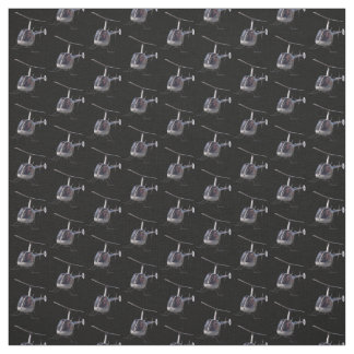 Helicopter Fabric Flying Helicopter Custom Fabric