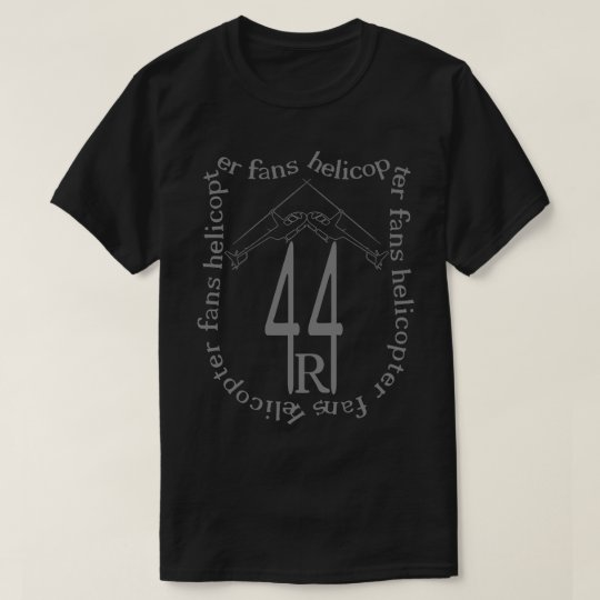 helicopter fans r44 T-Shirt