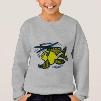 Helicopter Fish Sweatshirt