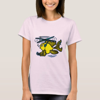 Helicopter Fish T-Shirt