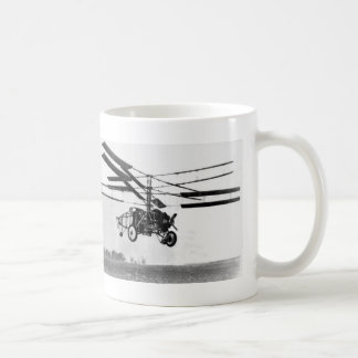 Helicopter Invention Coffee Mug